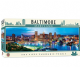 Baltimore Maryland 1000 piece panoramic  jigsaw puzzle 990mm x 330mm  (mpc)